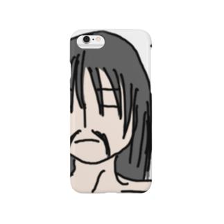 ひげ奥義 極めた! Smartphone cases