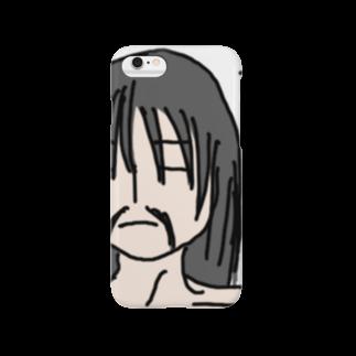 mana02のひげ奥義 極めた! Smartphone cases