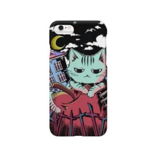 夜ノ猫 Smartphone cases
