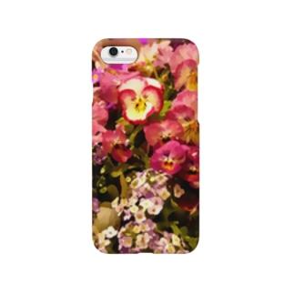 パンジー Smartphone cases