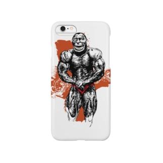 ボディビルディングモンキー Smartphone cases