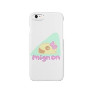 みにょん恐竜♡ Smartphone cases