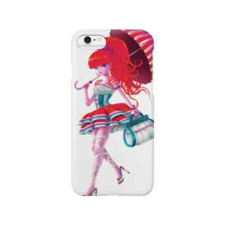 A Walking Girl Smartphone cases