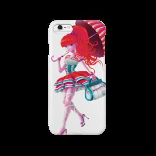 青柳カヲルのA Walking Girl Smartphone cases