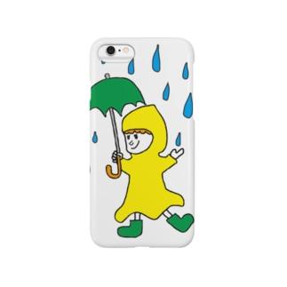 楽しい雨 Smartphone cases