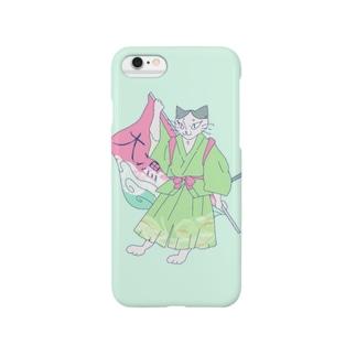 大漁ねこ Smartphone cases