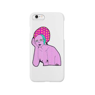 お風呂姐さん Smartphone cases