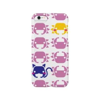 ぺたぞうマーク(並び) Smartphone cases