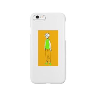 たたずむ Smartphone cases