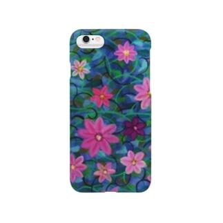 クレマチス Smartphone cases
