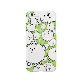 クリームソーダ犬 Smartphone cases