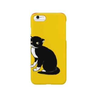 ノラ猫クゥちゃん Smartphone cases
