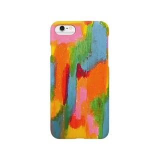 クレヨンケース Smartphone cases