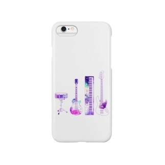 【band】 Smartphone cases