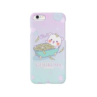 ゲスくまiPhoneケース Smartphone cases