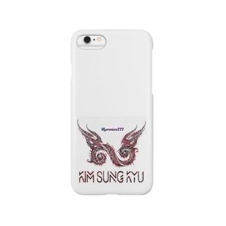 Kim Sungkyuロゴ Smartphone cases