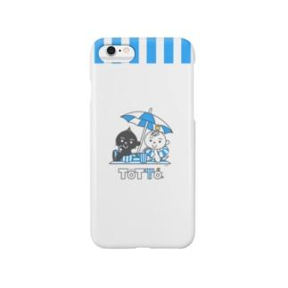 トットォとビーチパラソル Smartphone cases