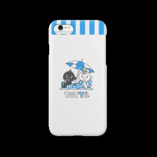 ジージョのトットォとビーチパラソル Smartphone cases