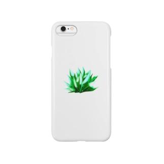 翠の結晶 Smartphone cases