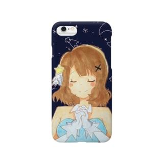『星に願いを』周防桃子 Smartphone cases