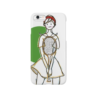 Tenniser [Green ber.] Smartphone cases