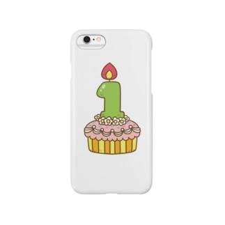 Happy Birthday 1歳! Smartphone cases
