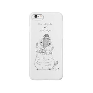 ジリス君 Smartphone cases