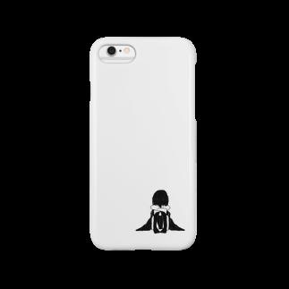 黒柴しーばのひとりぼっち Smartphone cases