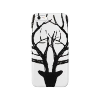 木の鹿 Smartphone cases