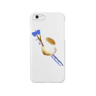 I♡マシュマロ Smartphone cases
