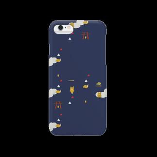 戸田江美の王子のキツネもよう Smartphone cases