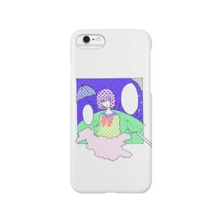 あなたのことを考えていたら Smartphone cases