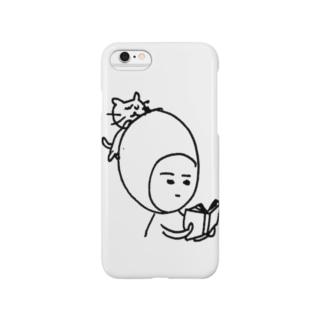 煮玉子の読書 Smartphone cases