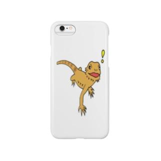 フトアゴヒゲトカゲくん Smartphone cases