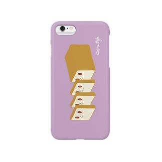 manulifeのお布団さん(まろやか~) Smartphone cases
