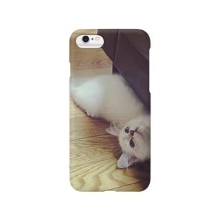 ちらり猫 Smartphone cases