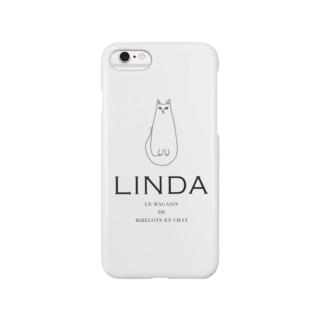 """ネコ """"LINDA"""" Smartphone cases"""