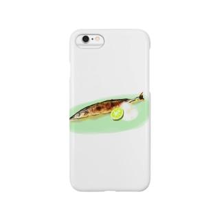 さんまのきせつ Smartphone cases