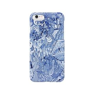 (青) Smartphone cases