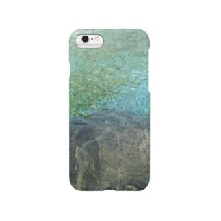 秘境の水鏡プレゼント Smartphone cases