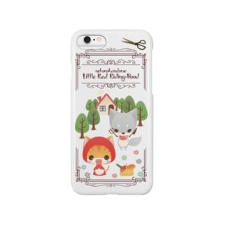 ねこかん赤ずきんちゃん スマートフォンケース