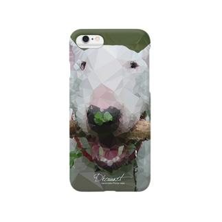 Geometric bull terrier S716 Smartphone cases