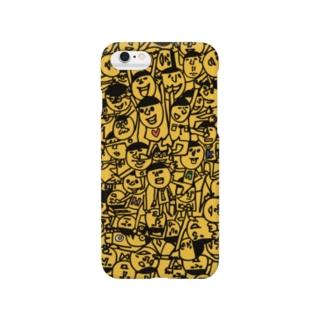 くりくり坊主 Smartphone cases