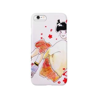 あき子ちゃん Smartphone cases