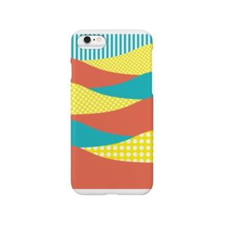 さざなみレトロ Smartphone cases