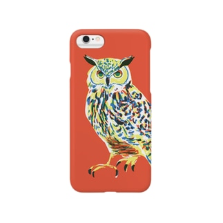 ミミズク iPhone6/6s/6Plus Smartphone cases