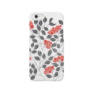 なんてんと小鳥 Smartphone cases