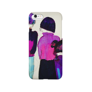 uno manakiの前髪戦隊ず Smartphone cases