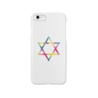 ▼ hexagram Smartphone cases