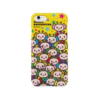 うぱ星人 イエロー Smartphone cases
